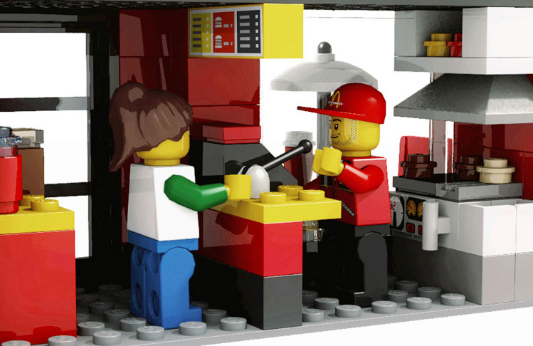 Lego cuusoo mini shop series - Comment faire une ville lego city ...